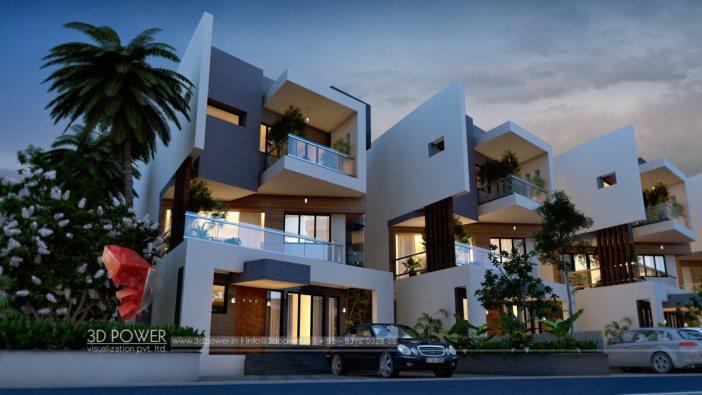 3d Architectural Elevations 3d Power Visualization Pvt Ltd